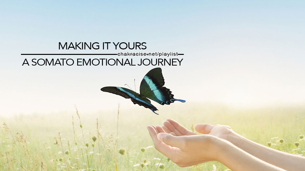 Clearing out negative energies and filling up with empowering emotions...your way!