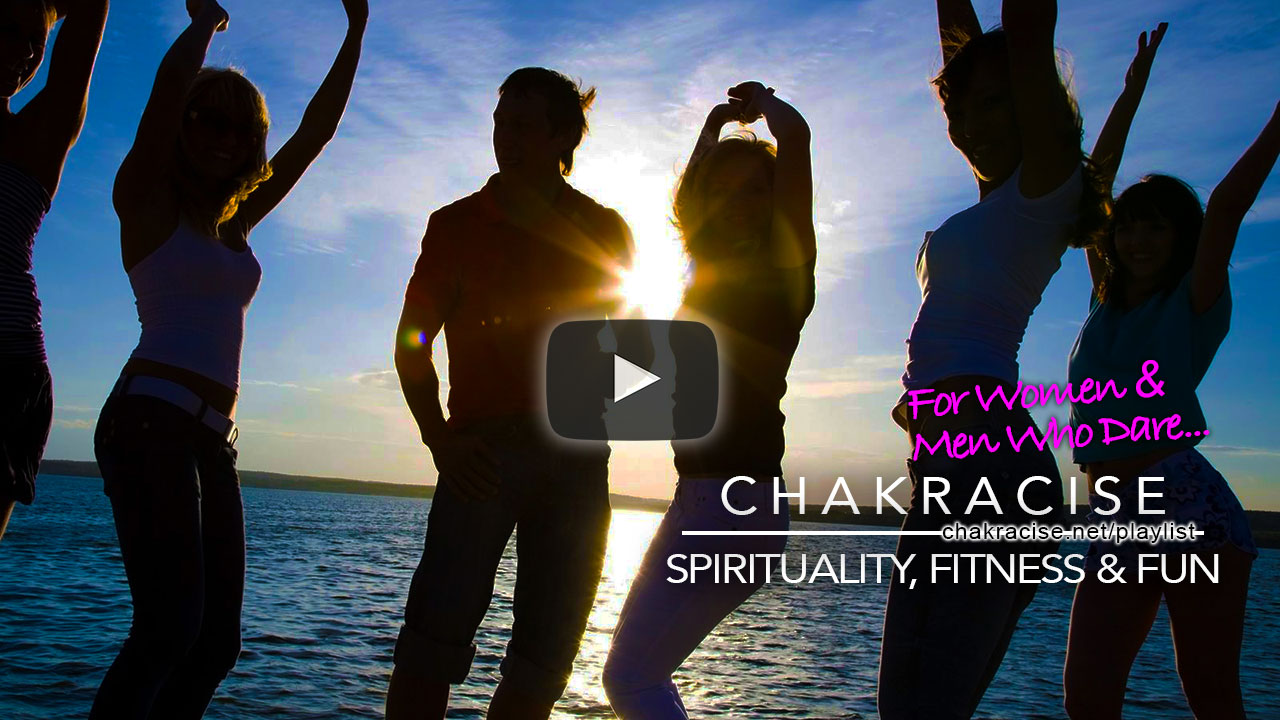 Open & clear the chakras with Chakracise & get fit at the same time with movement that is strong & beautiful.